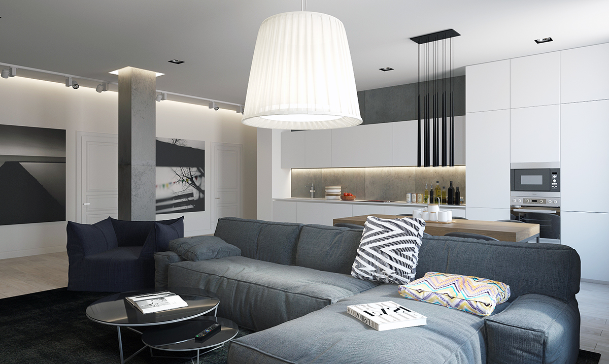 Classic Modern Apartment With Storage - Four homes with four different takes on integrated storage