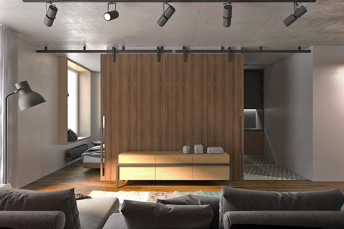 Interior Designs For Studio Apartments 5 small studio apartments with beautiful design