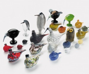 Designed by renowned Finnish artist Oiva Toikka, these colorful mouth-blown glass birds have been a cherished part of the contemporary decor landscape for more than 40 years – and throughout his career, Toikka has managed to create more than 400 of these gems for passionate collectors to pursue.