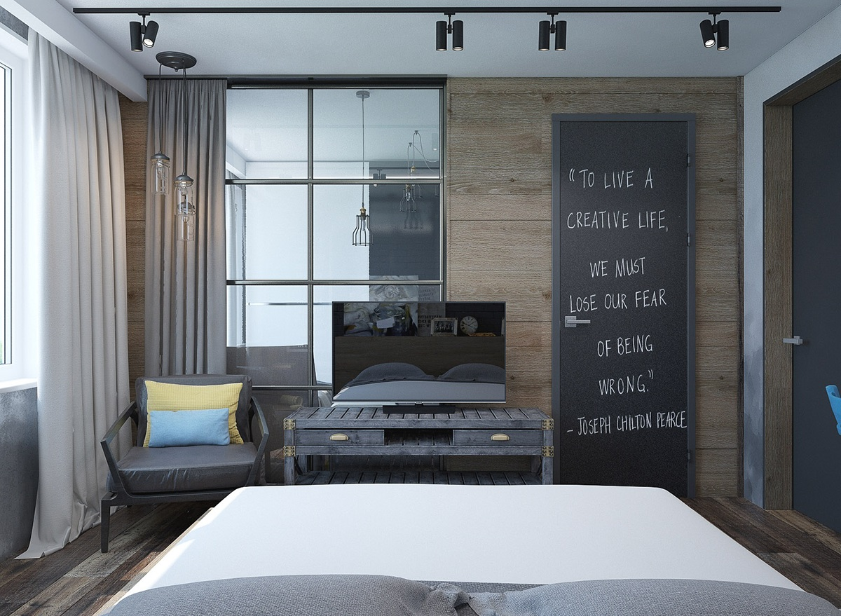 16  6 Creative Bedrooms With Artwork And Diverse Textures