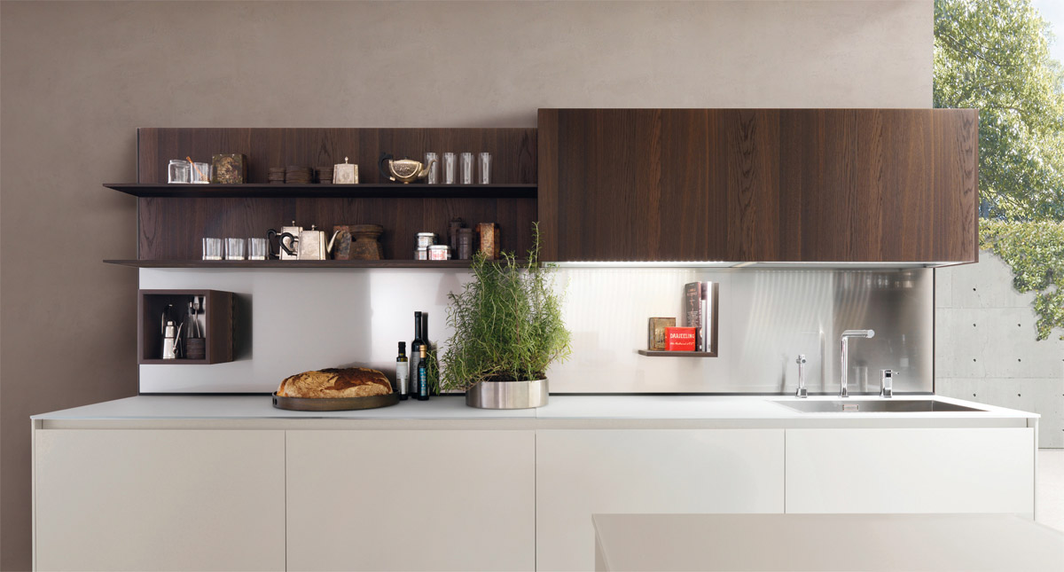 Modern White Kitchens With Wood 25 white and wood kitchen ideas