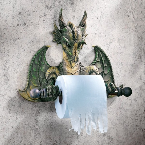 40 Cool Unique Toilet Paper Holders