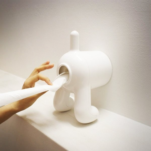 lovely idea single post toilet paper holder.  40 Cool Unique Toilet Paper Holders
