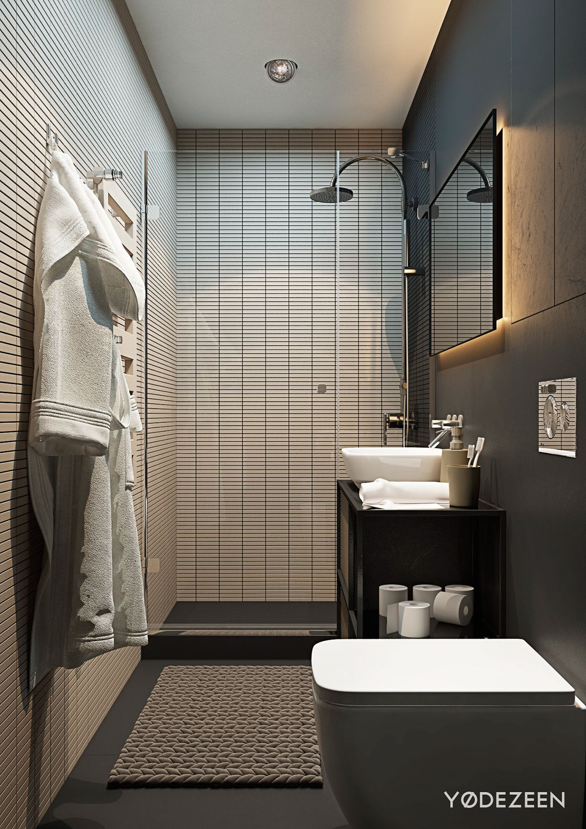 Apartment bathroom design - Apartment Bathroom Design 2