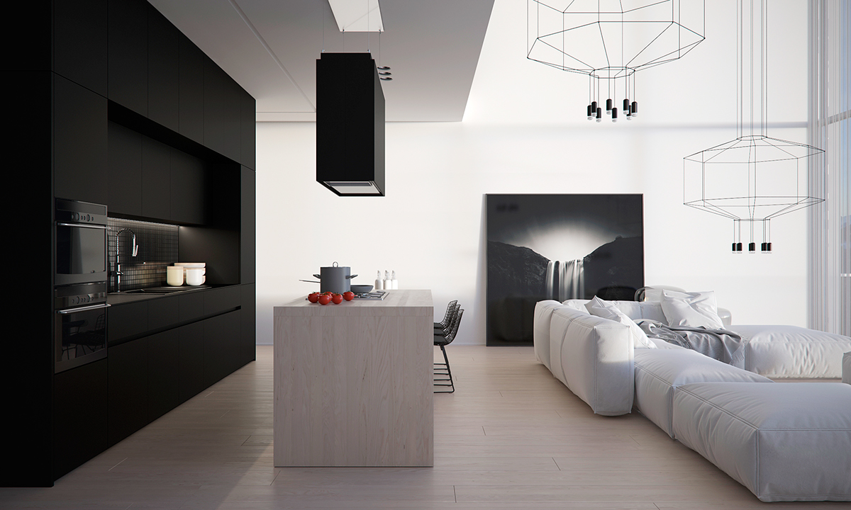 four homes with four different takes on integrated storage. Black Bedroom Furniture Sets. Home Design Ideas
