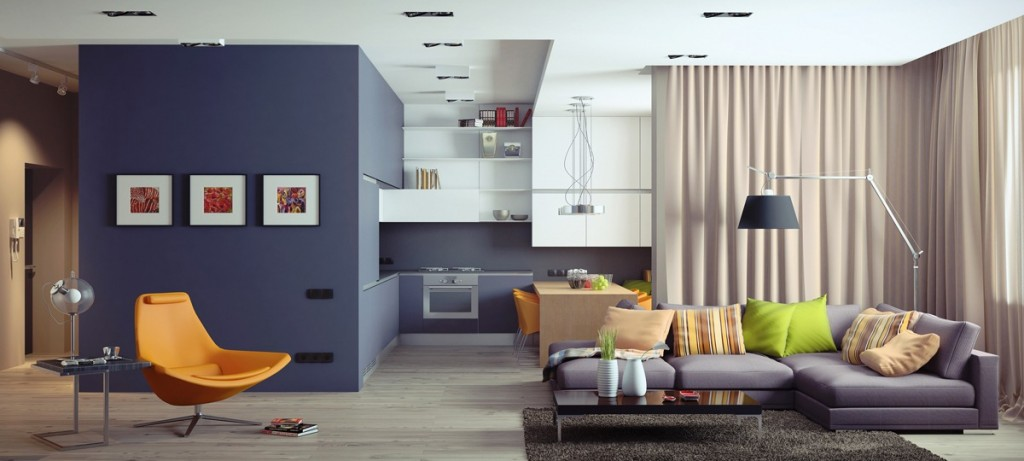 Four homes with four different takes on integrated storage - Cuisine pour petit appartement ...