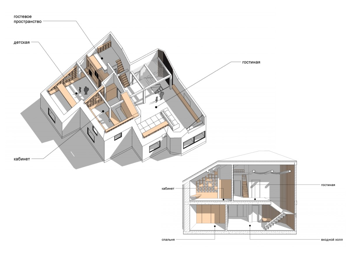Kid Friendly Apartment Floor Plan - A kid friendly apartment renovation by ruetemple architects