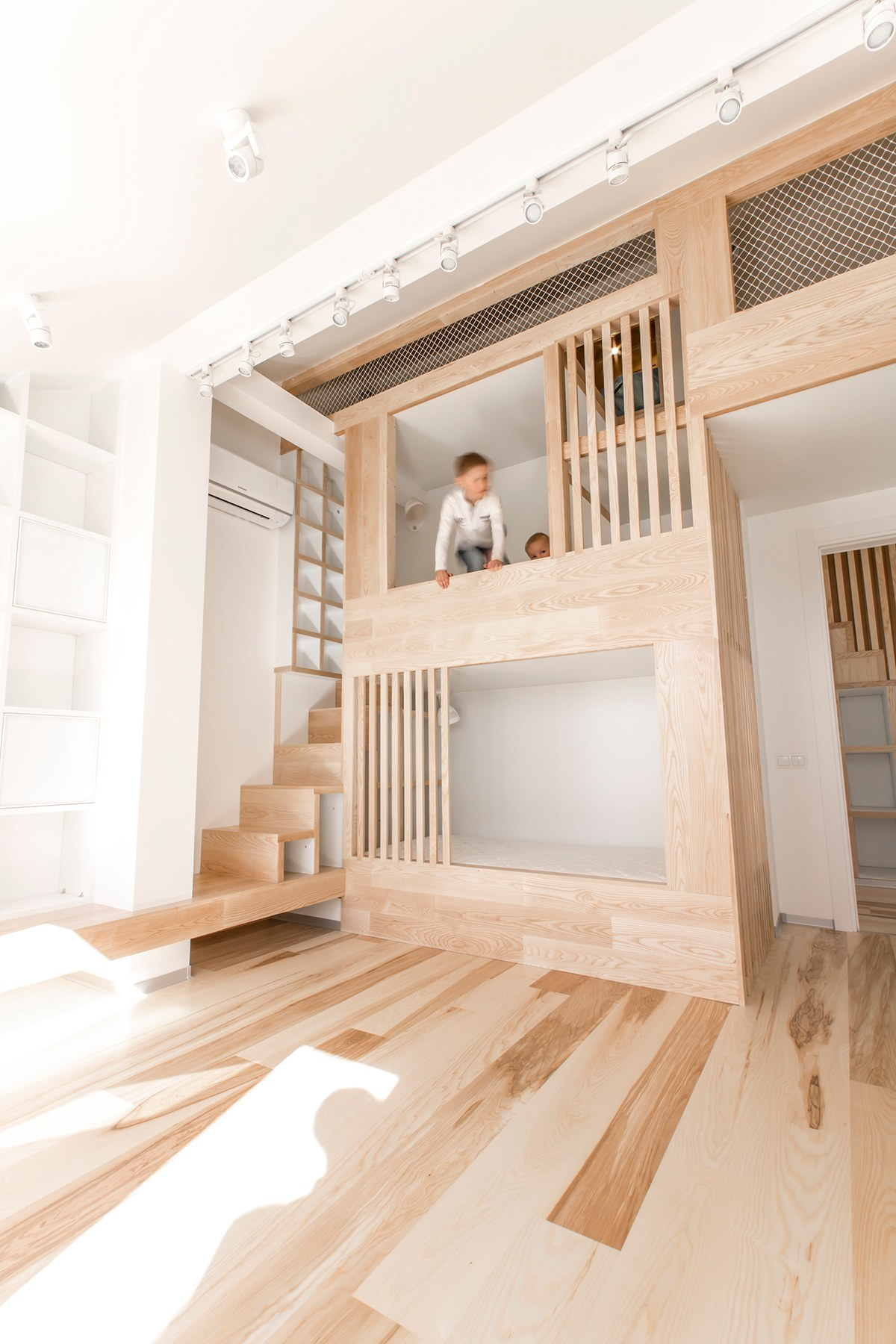 Kid Friendly Bedroom Design - A kid friendly apartment renovation by ruetemple architects