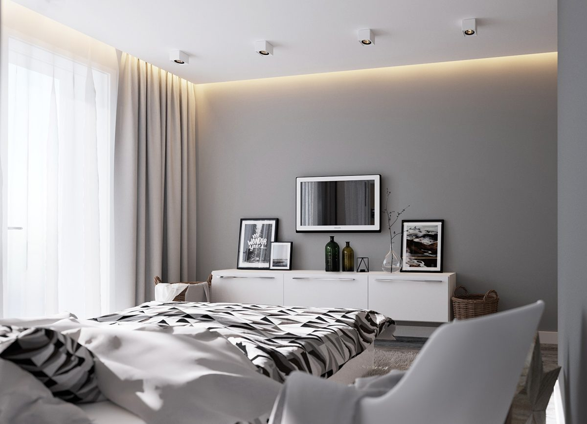 . 6 Creative Bedrooms With Artwork And Diverse Textures