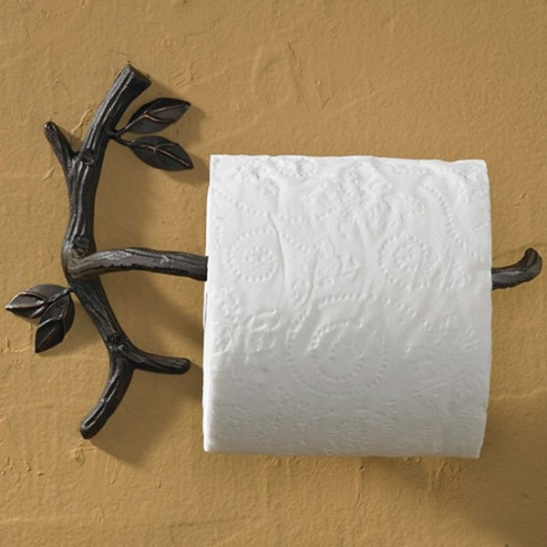 Cool Unique Toilet Paper Holders - Bathroom towel bars and toilet paper holders for bathroom decor ideas