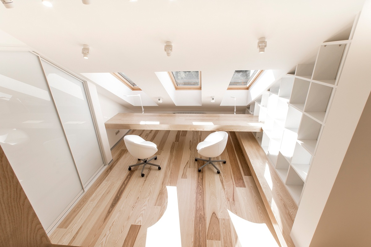 Office Skylight Design - A kid friendly apartment renovation by ruetemple architects