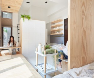 an incredibly compact house under 40 square meters that uses natural decor small and tiny house interior design - Design For Small House