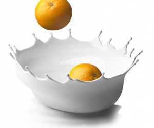 Menu Dropp Fruit Bowl: Super cool! The stylish Dropp fruit bowl is artwork for the kitchen. If you feel bowls are the right direction, do not forget to check out our pick of modern fruit bowls.