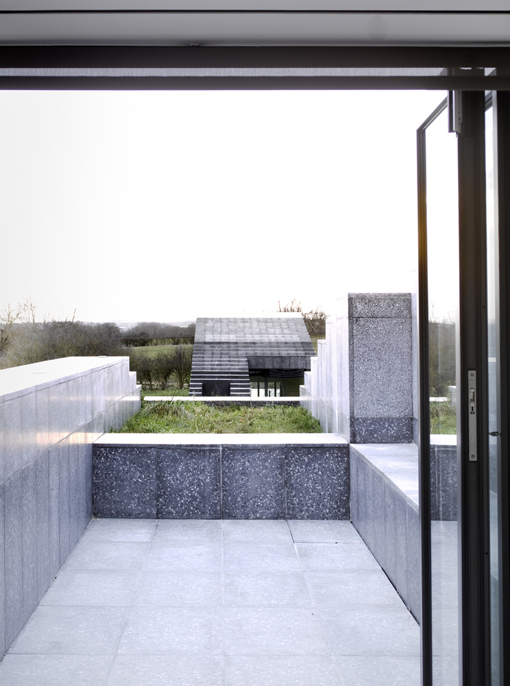 Unique stepped home architecture wedge shaped house is britain s house of the year