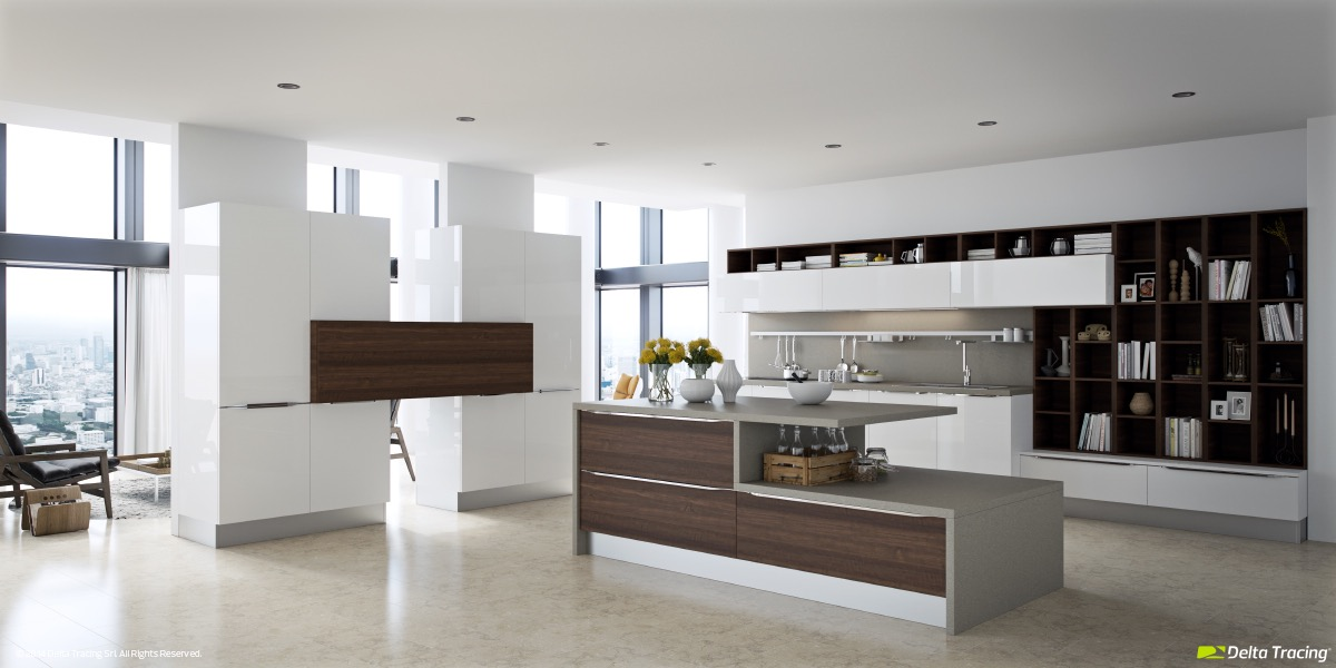 White Kitchen Ideas Modern 25 white and wood kitchen ideas