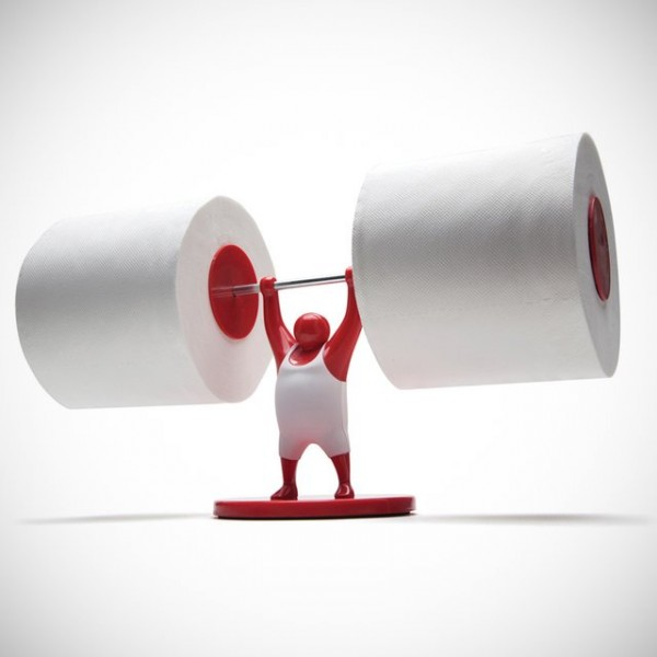40 cool unique toilet paper holders - Derouleur papier wc original ...