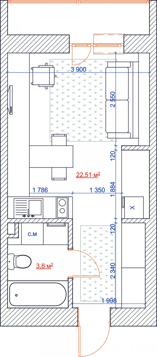 4 inspiring home designs under 300 square feet with floor for 300 sq ft apartment floor plan