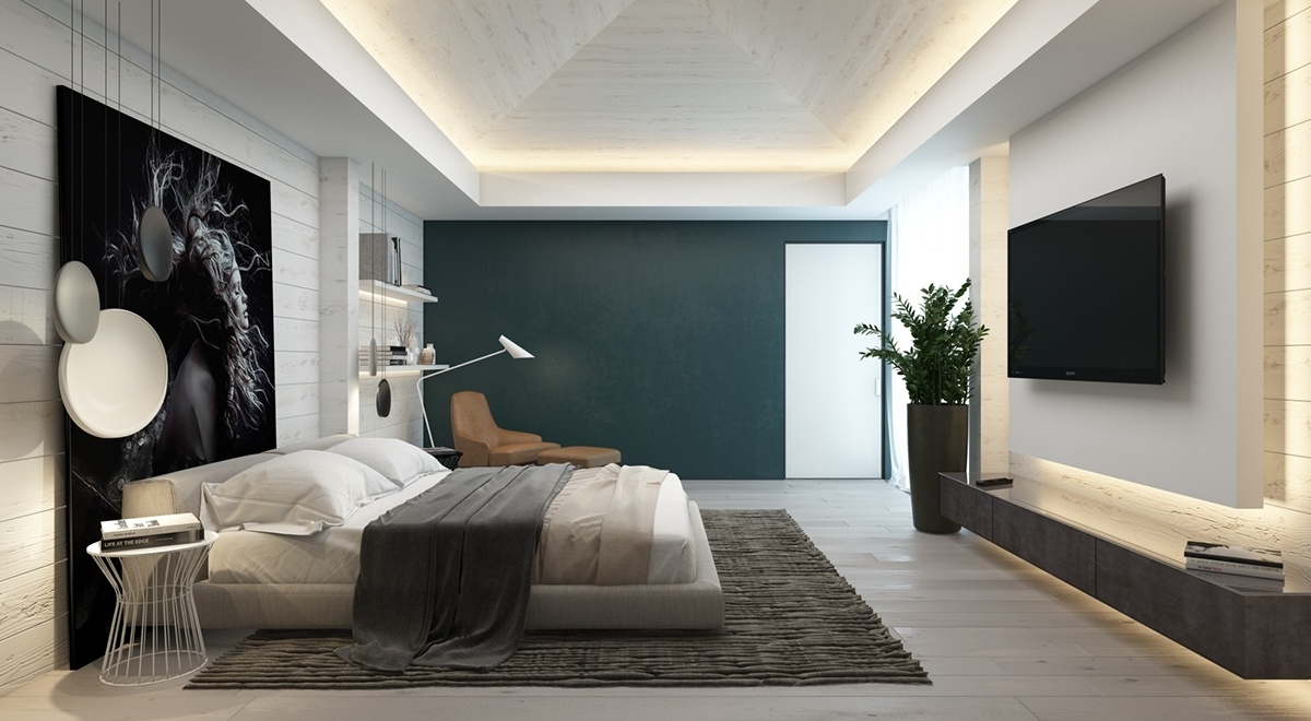 Accent Walls Bedroom. Accent Walls Bedroom M