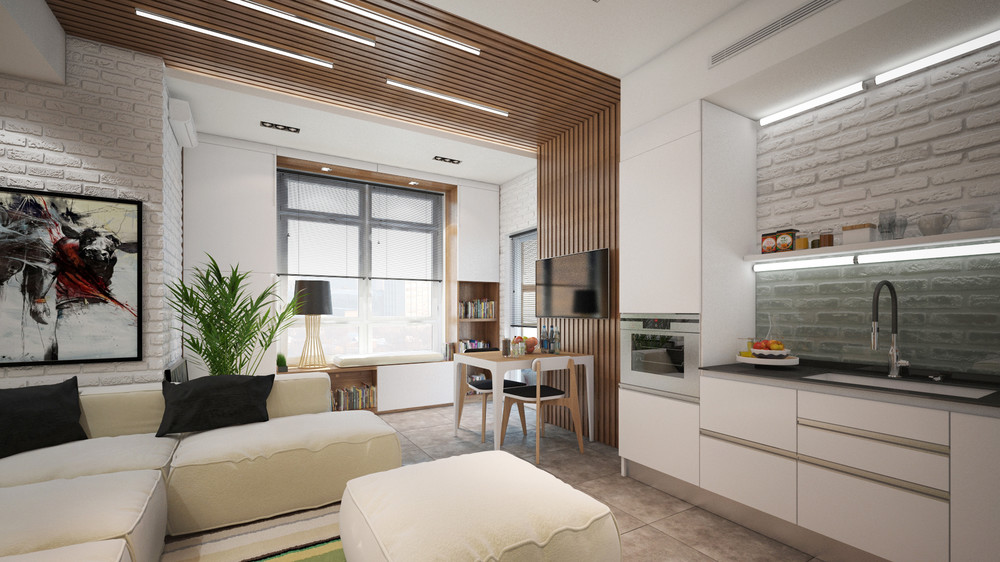 Compact Apartment Layout - 6 beautiful home designs under 30 square meters with floor plans