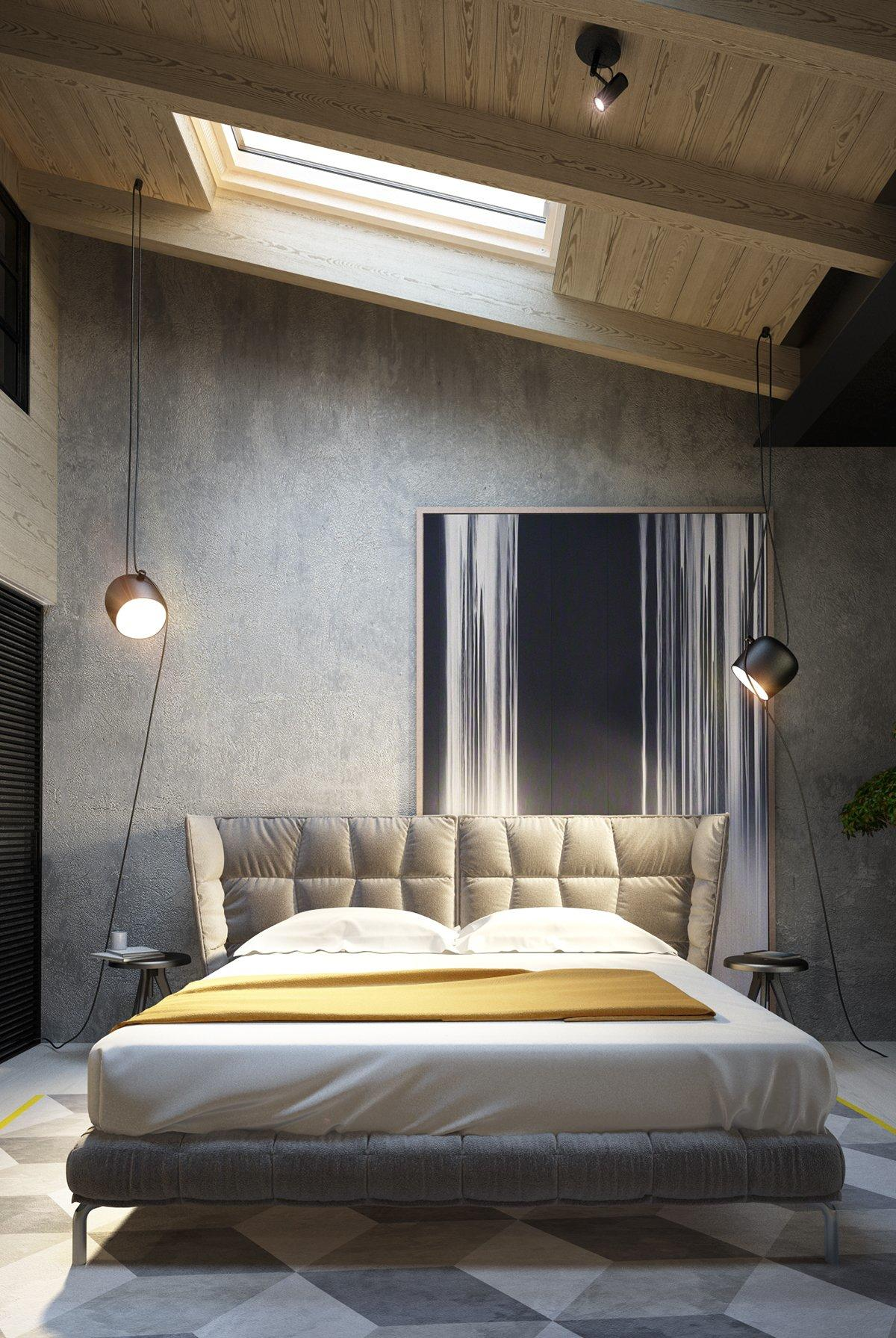 exposed concrete walls ideas inspiration