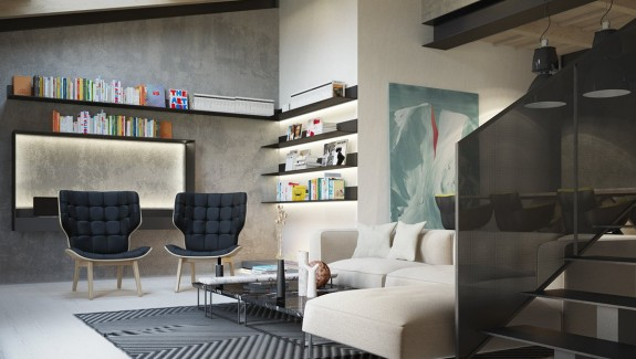 Exposed Concrete Walls Ideas & Inspiration