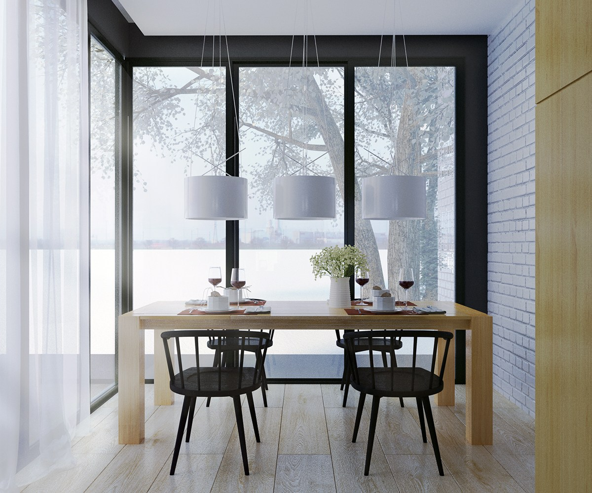 4 scandinavian homes with irresistibly creative appeal - Scandinavian style dining rooms ...