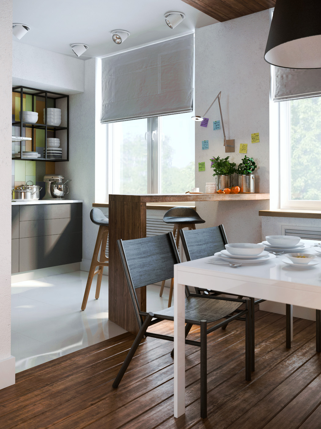 Designing Ideas employing moderate components is the great stride for apartment designing ideas on a financial plan albeit splendid shading is useful for roomy look Exposed Concrete Walls Ideas Inspiration