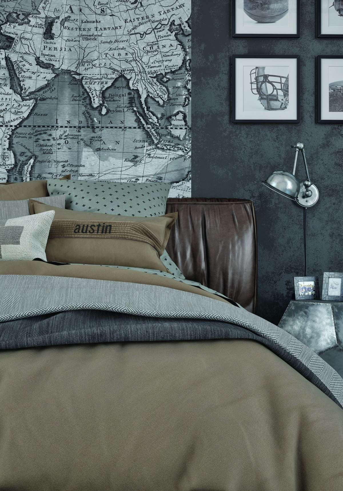 Gorgeous Travel Bedroom Inspiration - Exposed concrete walls ideas inspiration