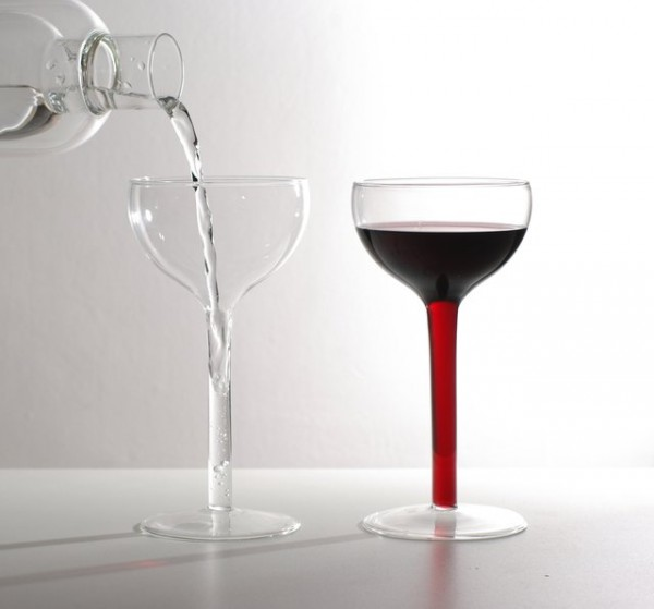 50 cool unique wine glasses - Wine glasses with thick stems ...