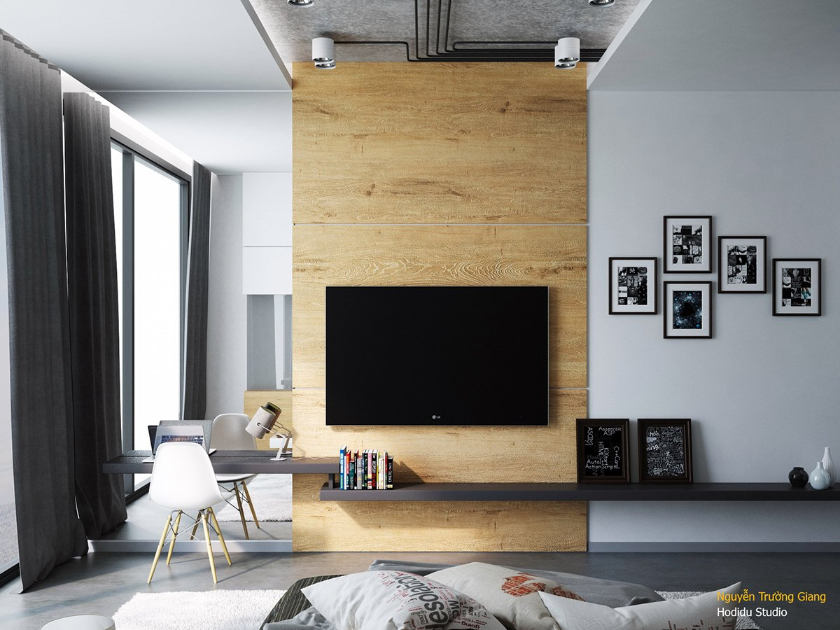 Creative bedrooms walls - Creative Bedrooms Walls 1