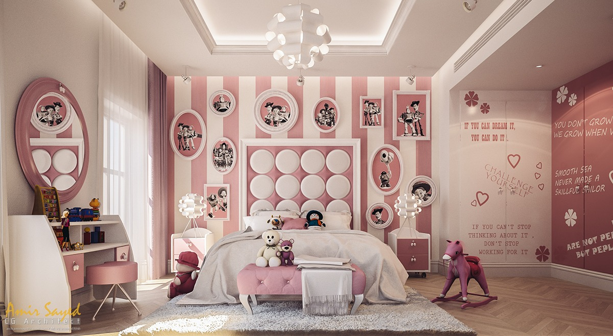 5 creative kids bedrooms with fun themes - Luxury Kid Bedrooms