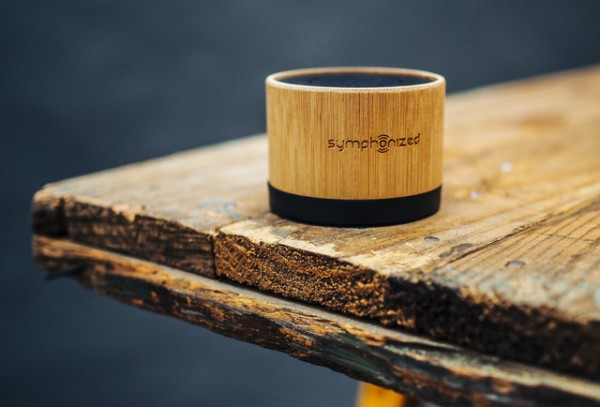 Home Design Ideas and Tips: minimalistic portable bamboo speaker