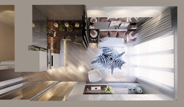 6 beautiful home designs under 30 square meters with floor plans 24 fandeluxe Choice Image