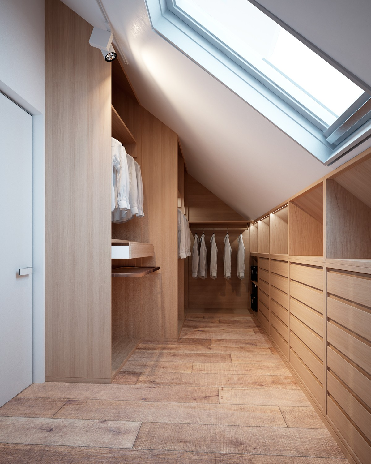 A family home with different styles in every room for Skylight home
