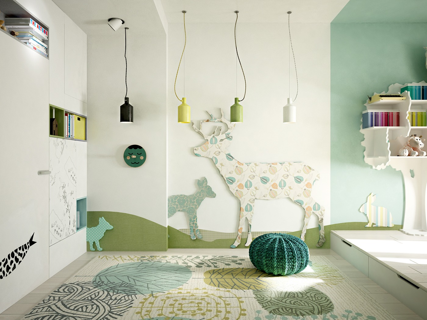 5 creative kids bedrooms with fun themes for 5 bedroom