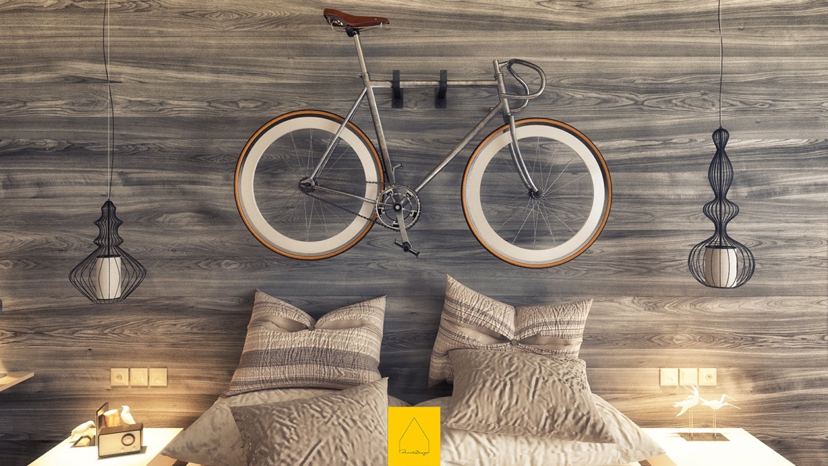 Bicycle Headboard Inspiration - 7 bedroom designs to inspire your next favorite style