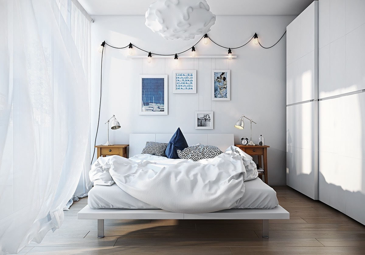 Scandinavian bedrooms ideas and inspiration for Bedroom theme ideas