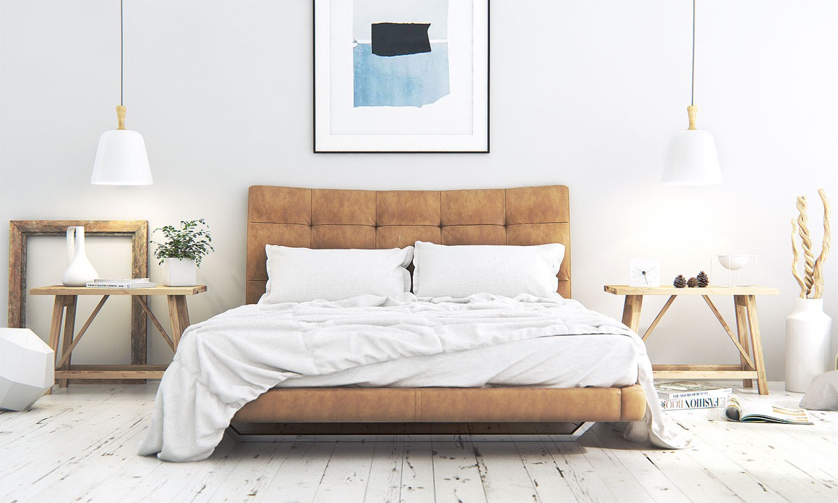 Scandinavian bedrooms ideas and inspiration - Lit scandinave vintage ...