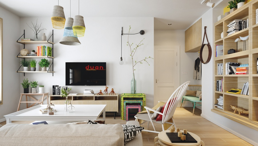 Colorful Scandinavian Design Ideas - 10 stunning apartments that show off the beauty of nordic interior design