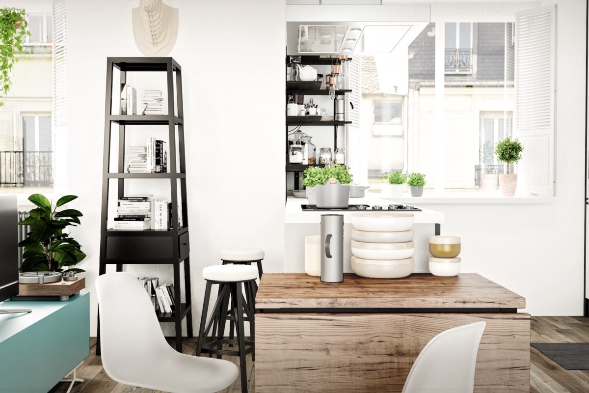 Cute Nordic Breakfast Table - 10 stunning apartments that show off the beauty of nordic interior design