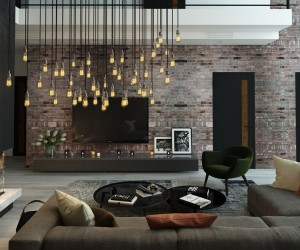 Does your interior lighting tell a story? These five living rooms show ...