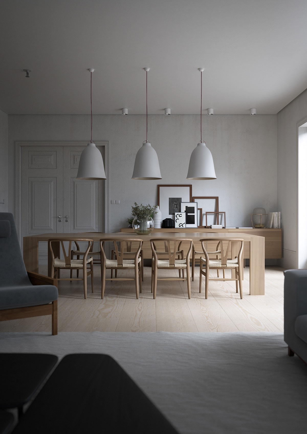 32 more stunning scandinavian dining rooms for Ideal dining room