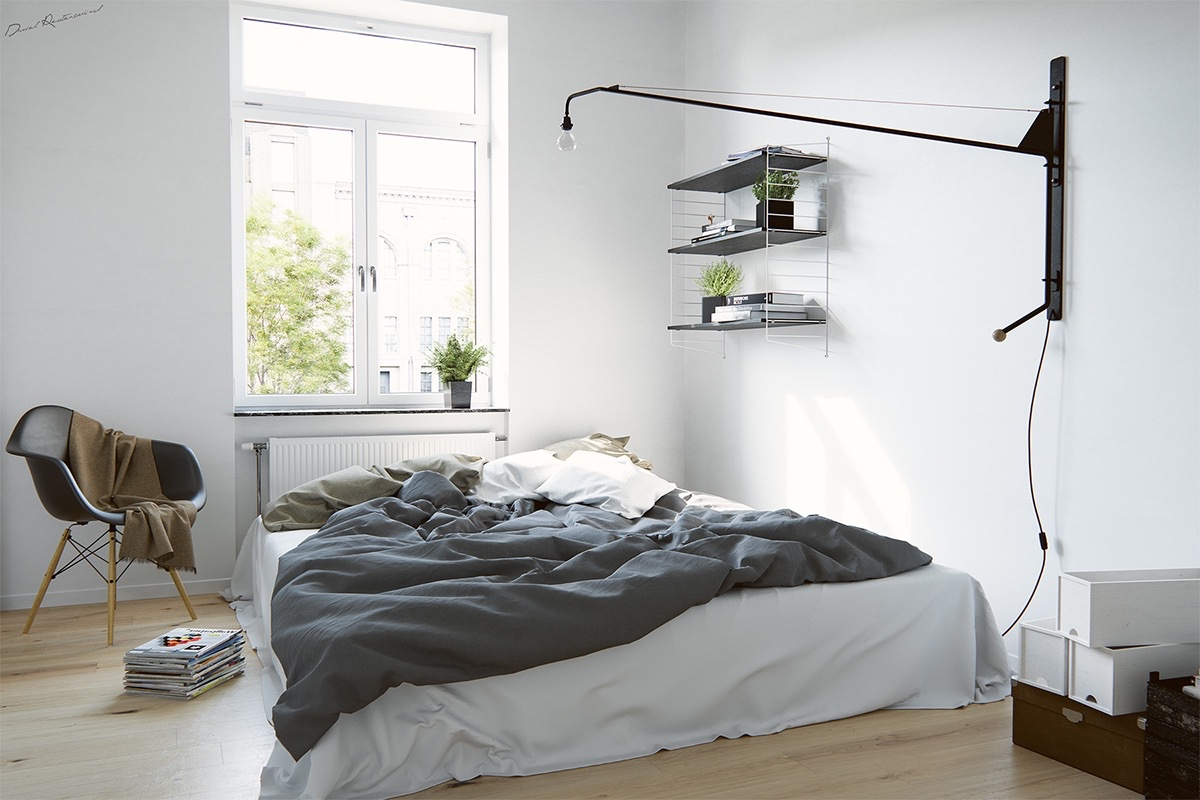 Scandinavian bedrooms ideas and inspiration for Accessories for bedroom ideas