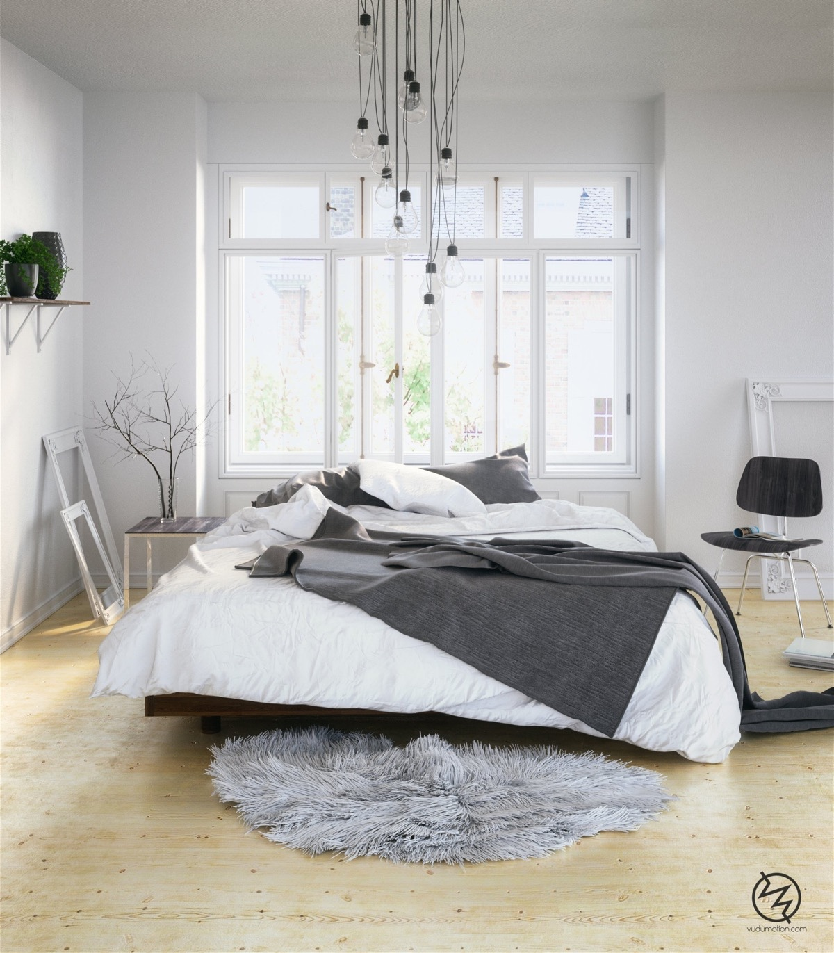 Scandinavian bedrooms ideas and inspiration for Designer inspired bedding