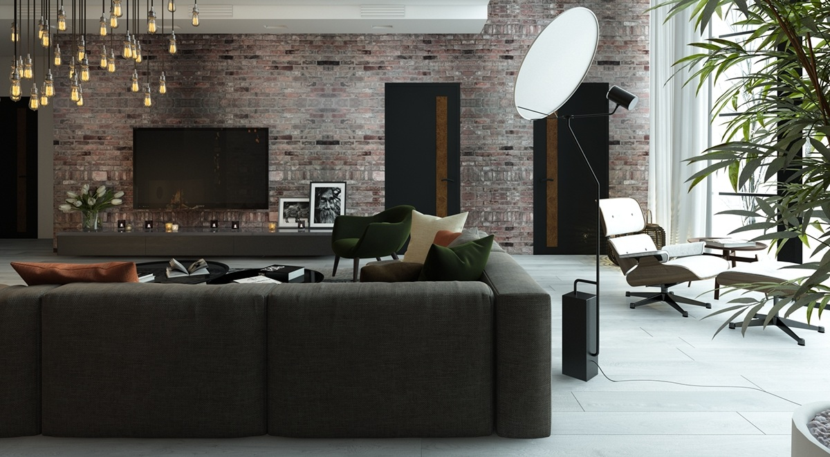 Indirect Floor Lighting - 5 living rooms with signature lighting styles