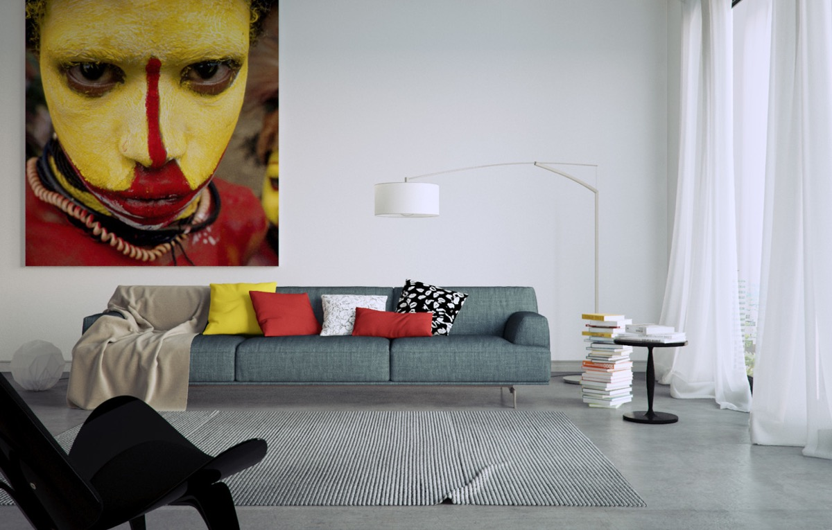 Large Wall Art In Interior