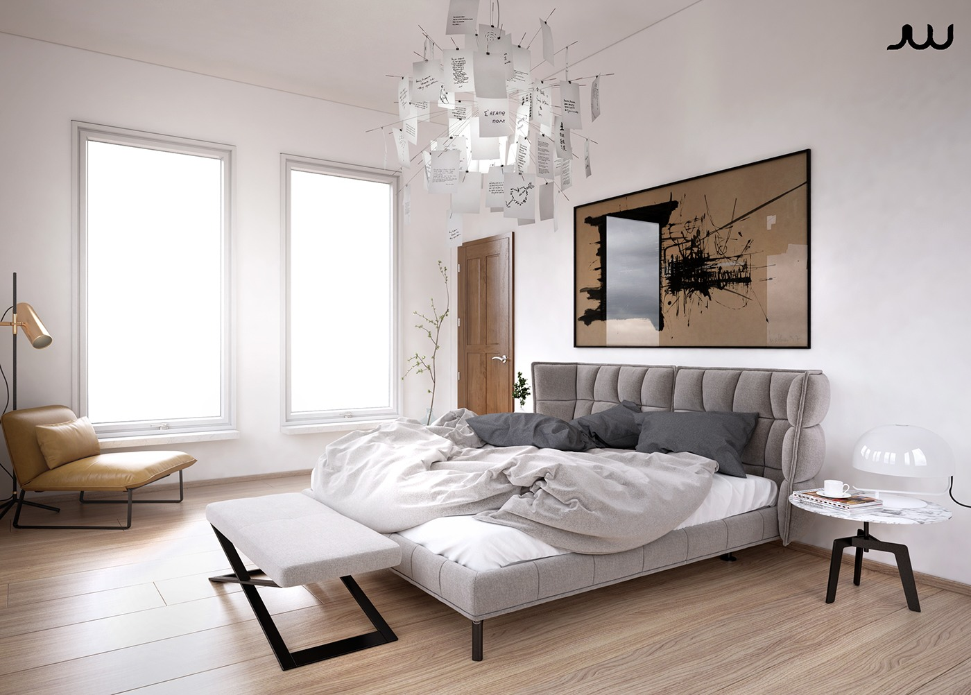 Ultra luxury apartment design - Designers bedrooms ...