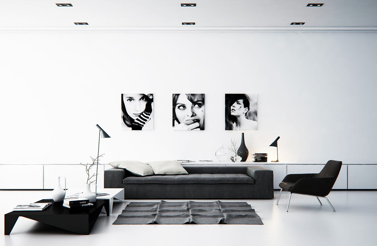 Minimalistic Lighting Ideas - 5 living rooms with signature lighting styles