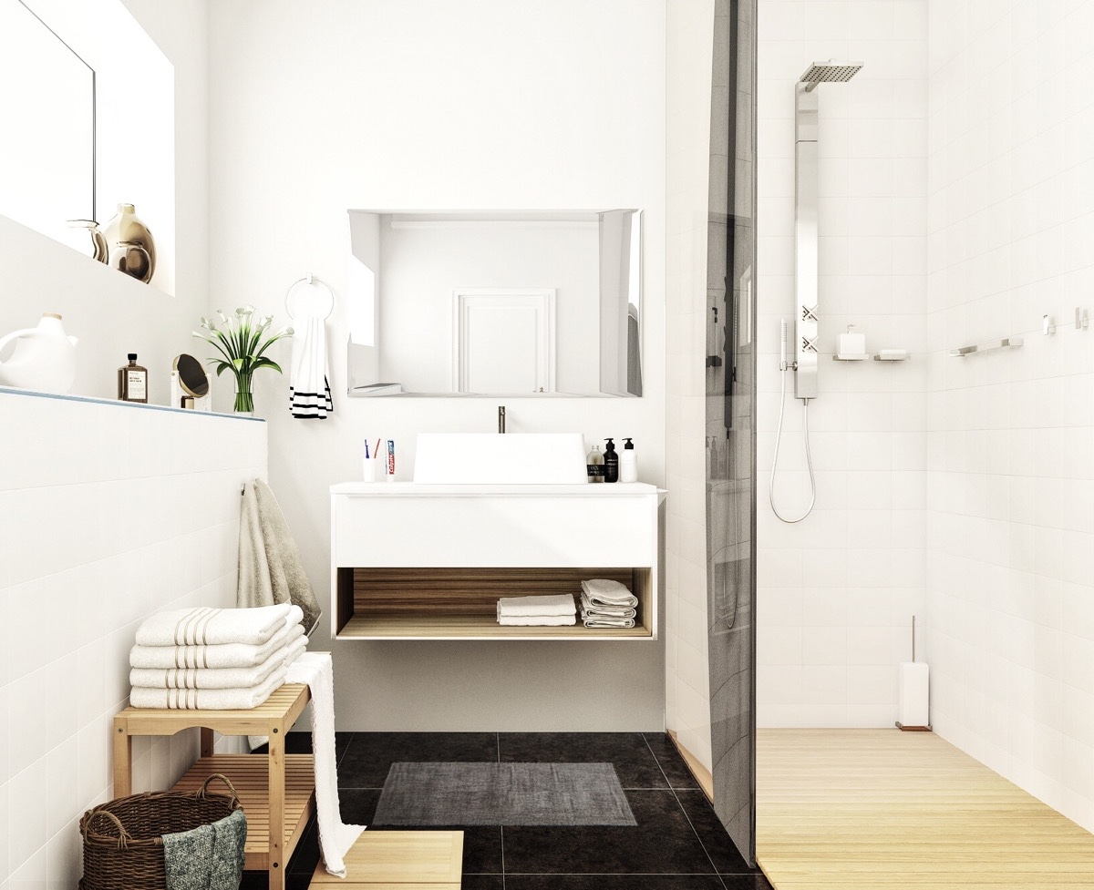 Minimalistic Nordic Bathroom Ideas - 10 stunning apartments that show off the beauty of nordic interior design