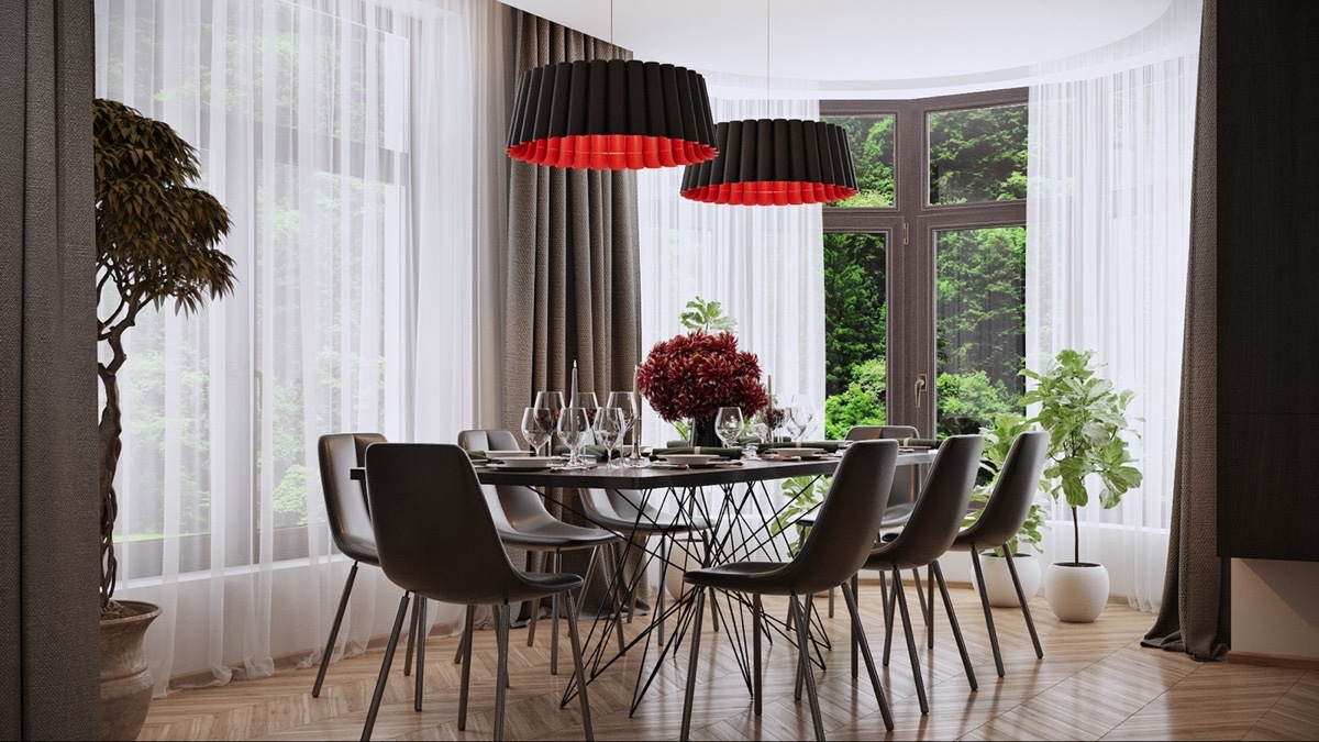 Mixed Era Dining Room Designs - Dining rooms that mix classic and ultra modern decor